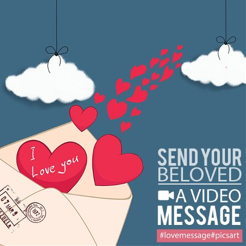 love message animated video