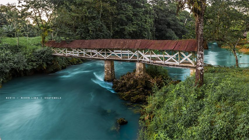 bridge guatemala nikon landscapes rivers