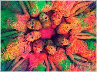 colors holi holi2014 india