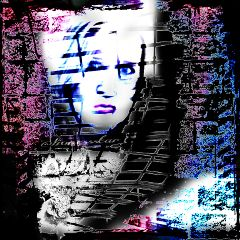 artisticselfie emotion art popart black & white
