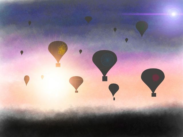 hot air balloon drawing contest winners