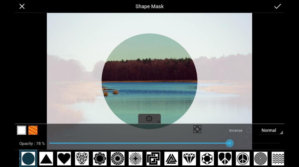 shape mask photo effects