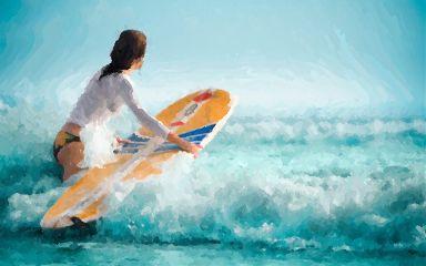 #dcsurfing love beach