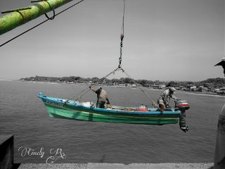 black & white color people photography travel