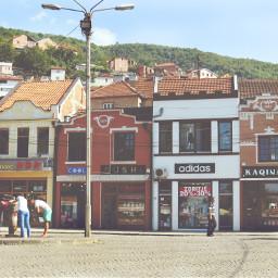 prizren kosovo architecture downtown vintage