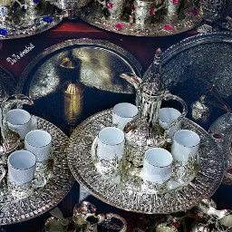 decorating shopping tea artistic travel