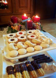 christmas cakes yummy food