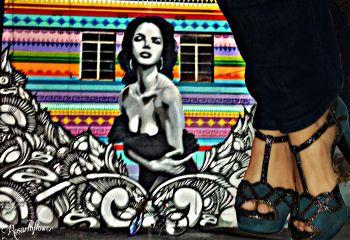 heels wall artistic artisticselfie art
