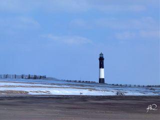 nature lighthouse beach winter