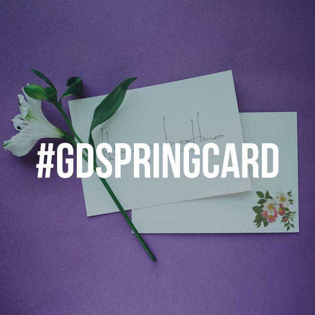 spring card graphic design contest